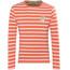 Regatta Carella - T-shirt manches longues Enfant - orange/blanc